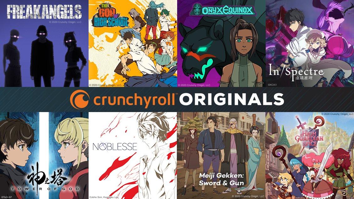 Crunchyroll dévoile les premiers Crunchyroll Originals