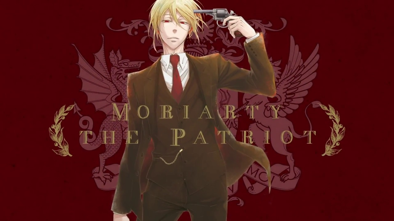 L'anime Moriarty the Patriot, en Affiche Teaser + Staff Animation