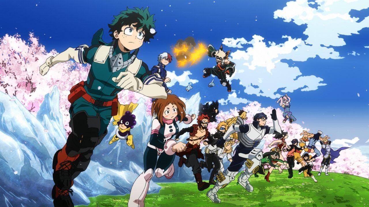 L'animé My Hero Academia Saison 5 est annoncé