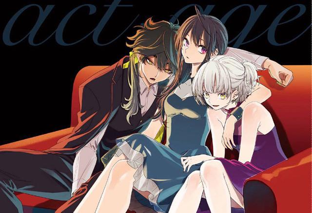 Le manga Act-age adapté en anime
